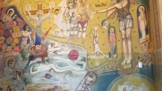 Biserica Drăgănescu – Pictura din suflet